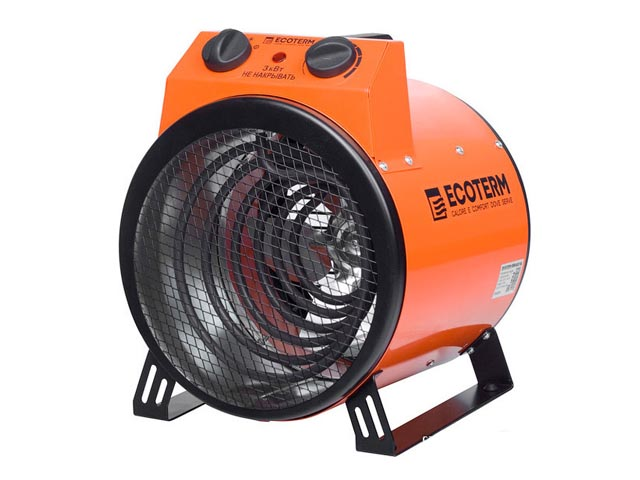 Аренда тепловентилятора электрического Ecoterm EHR-03/1A