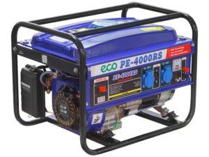Аренда бензогенератора ECO PE 4000 RS (2,8кВт)